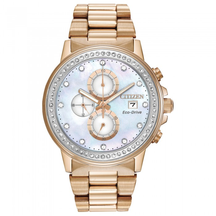 WOMEN'S CITIZEN ROSE GOLD-TONE CHANDLER NIGHTHAWK WATCH